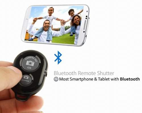 Пульт Bluetooth для монопода / штатива Apple iPhone 4/4S/iPhone 5/5C/5S (IOS) & Android для SELFIE