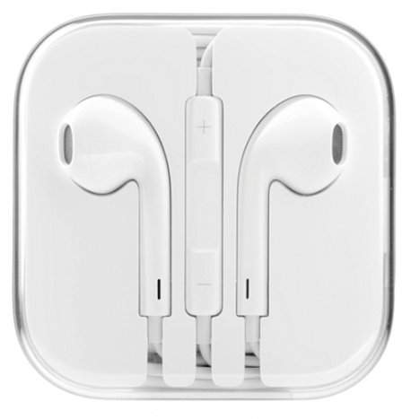 Hands-free/гарнитура Apple iPhone 5 / 5C / 5S EarPods аналог MD827ZM