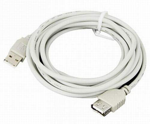 Дата-кабель USB USB male - USB female удлинитель 0.75m USB 2.0
